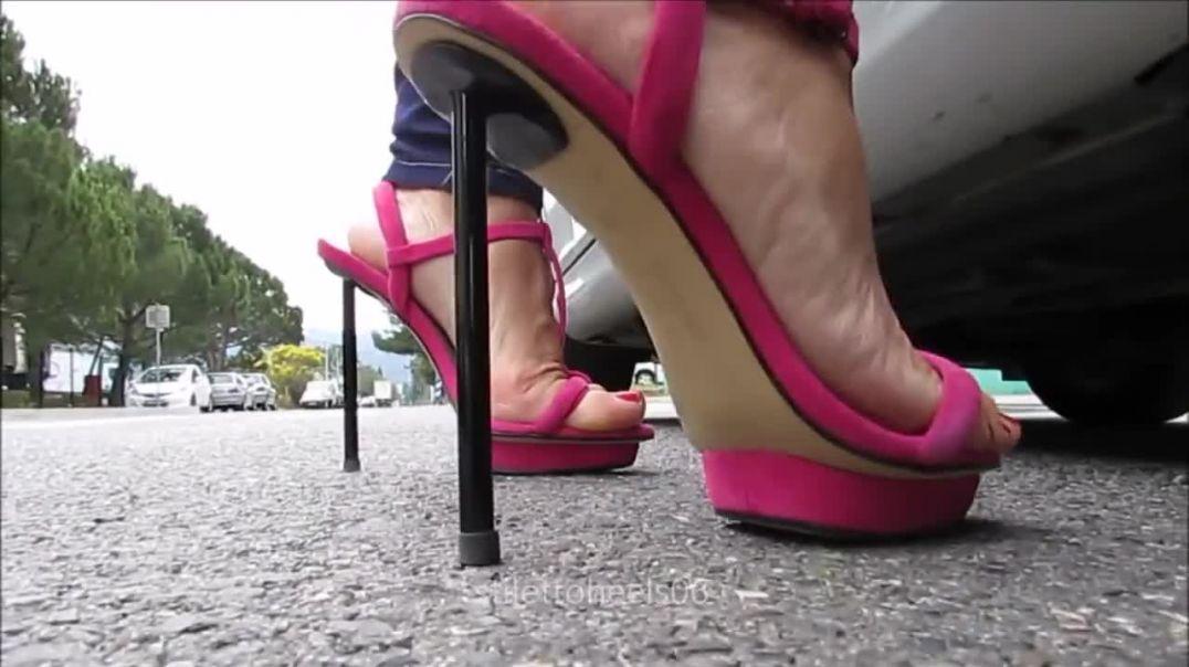 Pink Sexy Zara Sandals