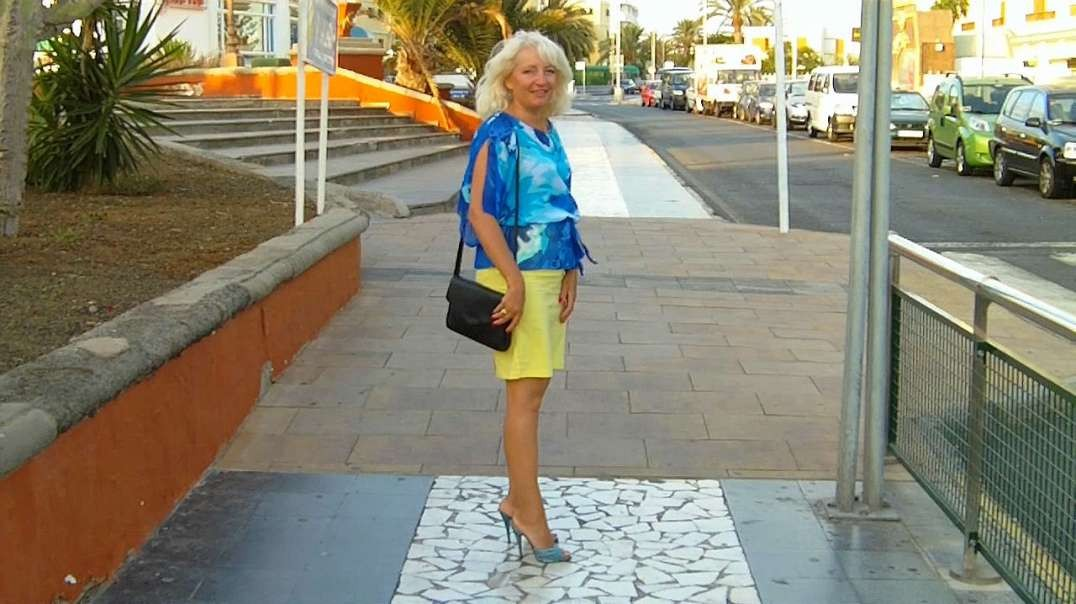 Blue Wave Mules (13cm) (4) in Shopping Centre Gran Canaria