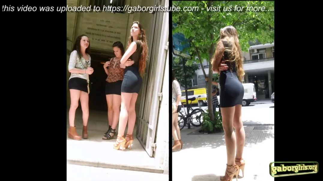 Street Candid - Curvy Latin Girl in hot Highheel Sandals by Odor666