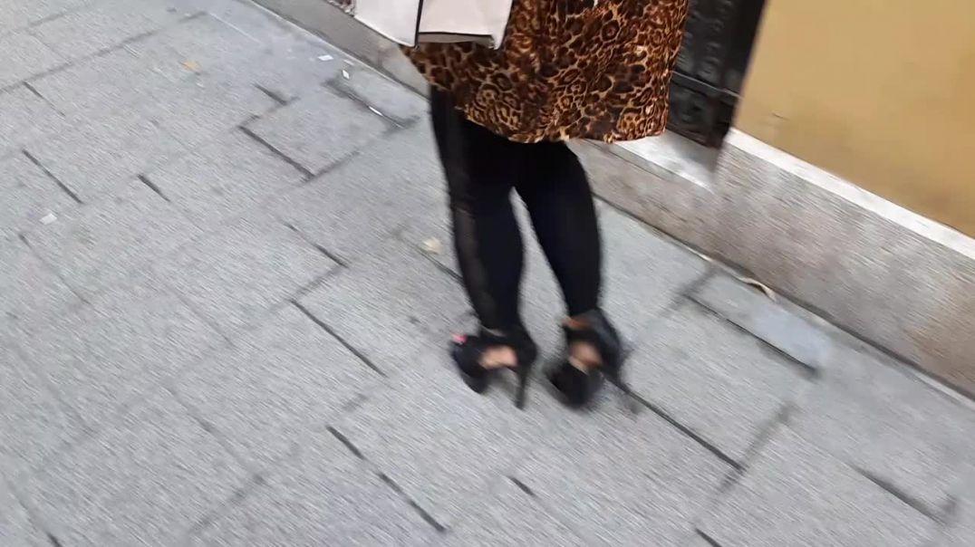 Lady Dorina in heels