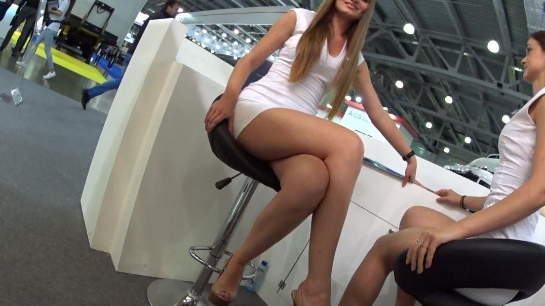 Russian Girls in sexy Slingback High Heels