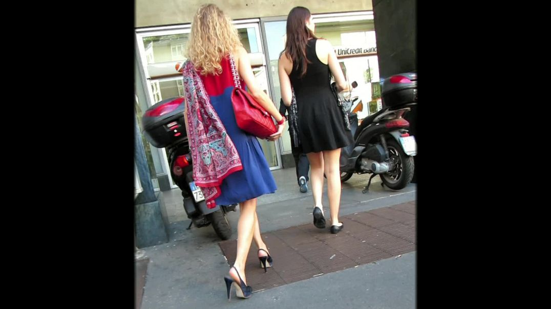 Street Candid - Sexy Lady in Stiletto High Heels by Choolover