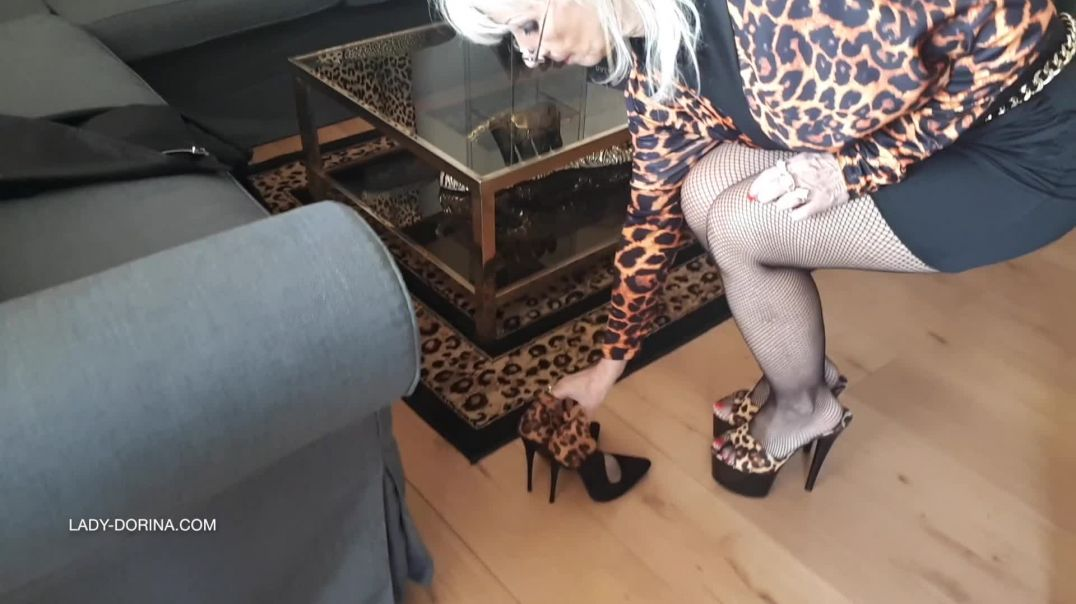 Lady Dorina all leopard