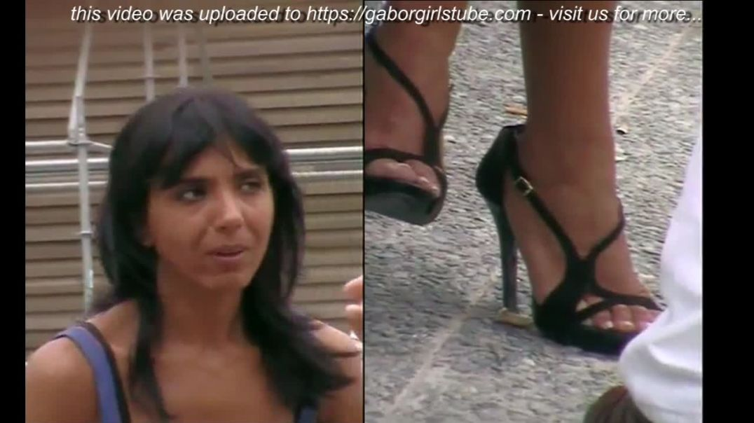 Micam Milano - Tanned Italian Lady in Strappy High Heels by Tacchialtissimi