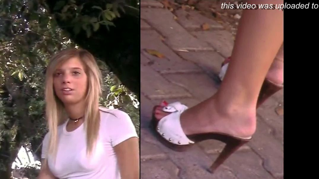 Street Candid - Italian Girls in Sexy Zoccoli Mules by Tacchialtissimi