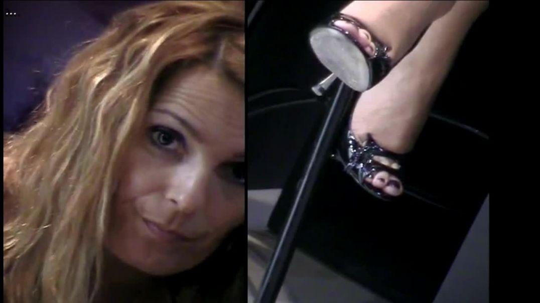 Micam Milano - sexy italian Redhead in Peeptoe Stiletto High Heels by Tacchialtissimi