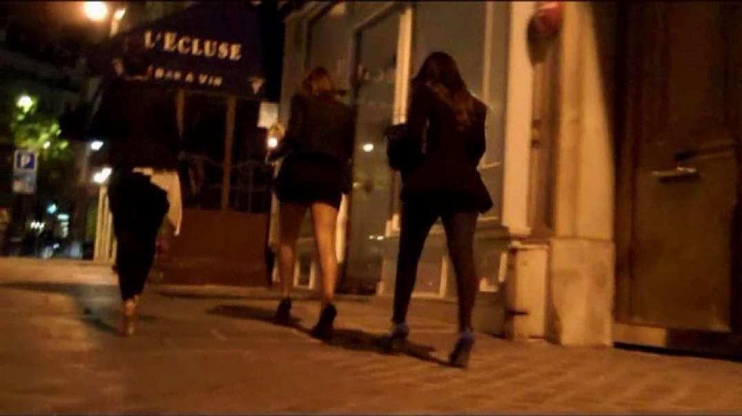 Three Sluts and hot high heels