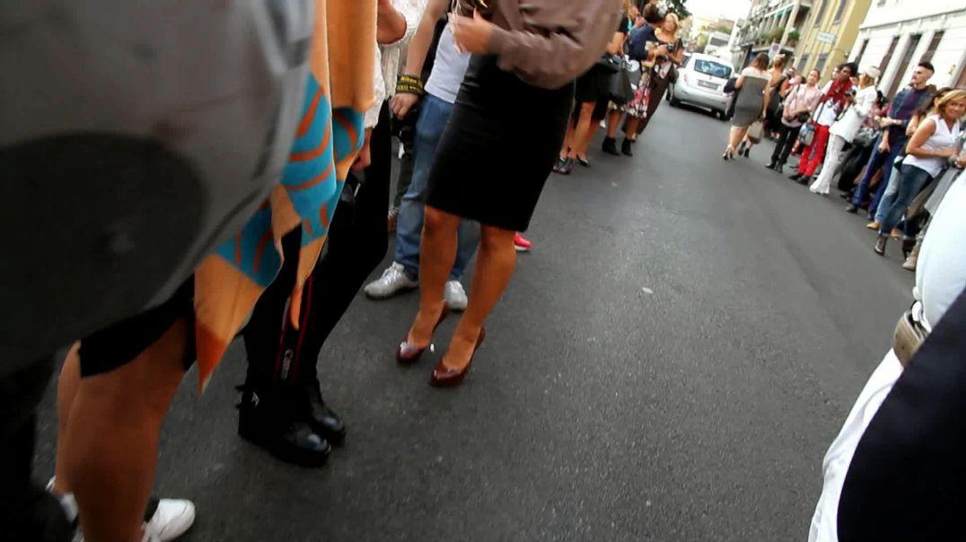 Street Candid - Milano Fashionweek MILF in Heels by Digital Hunter