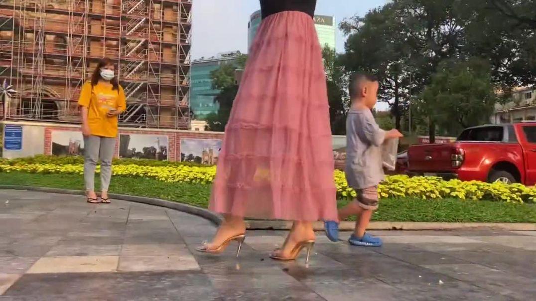 High heels in Vietnam