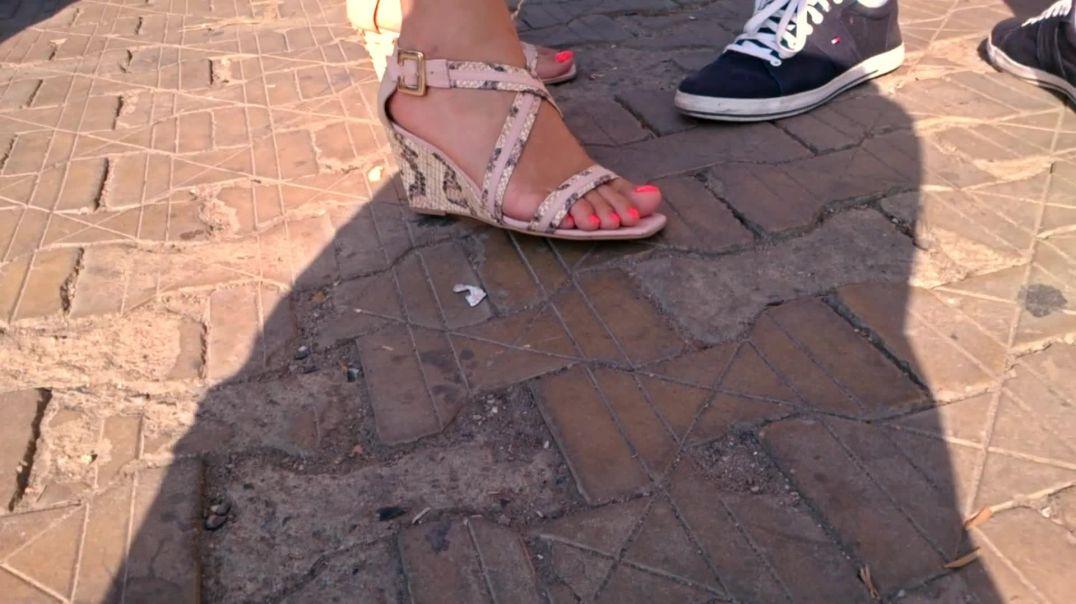 Nice feet and nail color