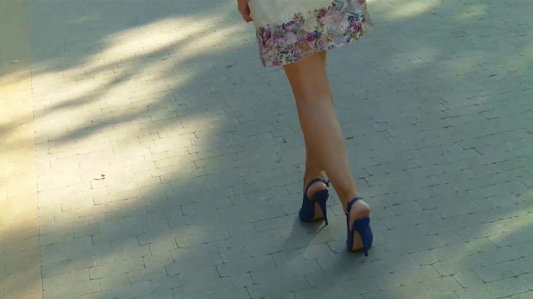 Blue Slingpumps (3)
